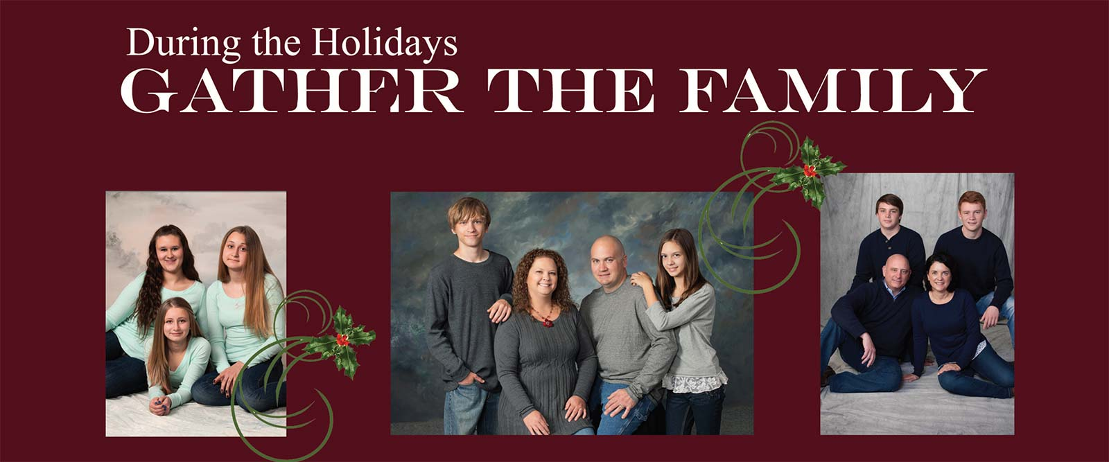 Gather the Family-For the holidays